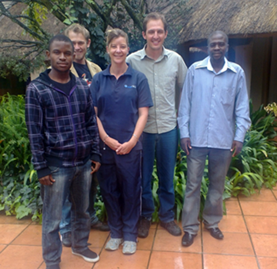 SMS course held March 2012 at Ekudeni Lodge , Johannesburg