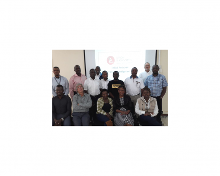 Occurrence Investigation course, Nairobi, Kenya, September 2018