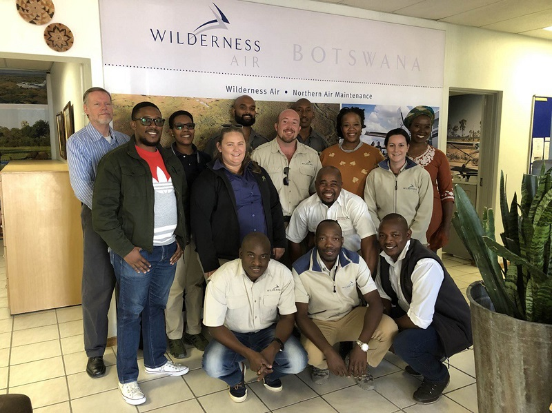 SMS Course, Botswana, July 2019